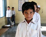 School Boy in India