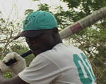 Baseball Players in Ghana