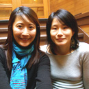 Emily Taguchi and Lee Wang