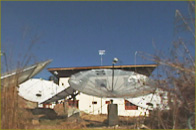 photo of satellite dishes