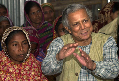 Yunus First Came Across The Idea Of Microcredit While Studying Lives Poor Entrepreneurs In His Native Bangladesh During Famine 1974