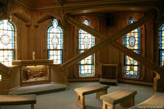 The Chicago Temple - Sky Chapel (Credit: Sarah Tranum)