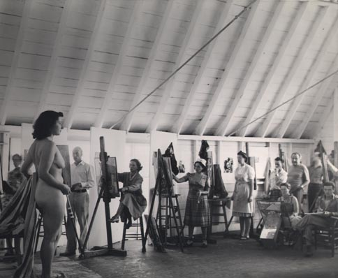 class painting nude ... with nude modeling for photographers, artists and art classes.