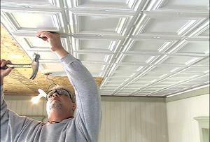 Aluminum Replica Ceiling Panels Pattern 1221