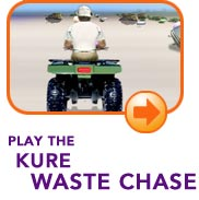 Play The Kure Waste Chase!