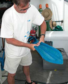 preparing force fins