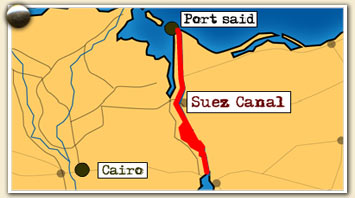 Lawrence of Arabia  Emerging Middle East  Lure of the Suez Canal