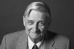 E.O. Wilson, photo by Robin Holland