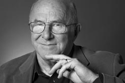 Clive James photo by Robin Holland