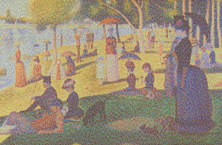 Cans Seurat by Chris Jordan