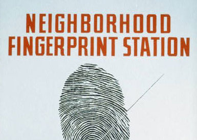Neighborhood fingerprint station