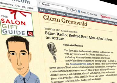 Glenn Greenwald, Photo by Robin Holland