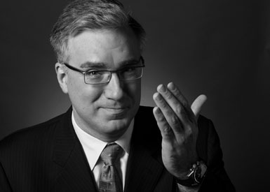 Keith Olbermann, photo by Robin Holland