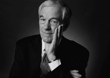 Ron Paul, photo by Robin Holland