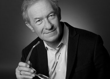 Simon Schama, photo by Robin Holland
