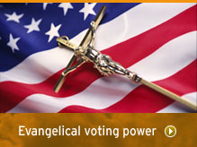 Evangelical voting power