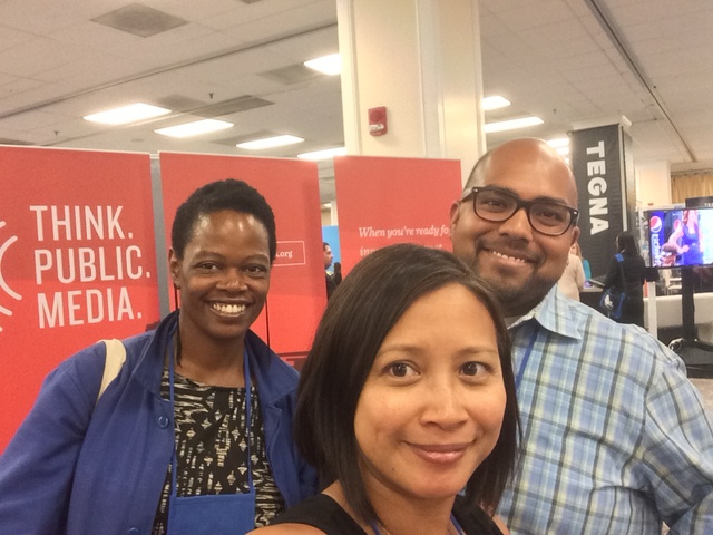 1b2b9a73d131 said one of the visitors to our Public Media Village at the NABJ NAHJ Job  Fair.