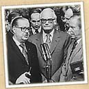 Goldwater at press conference