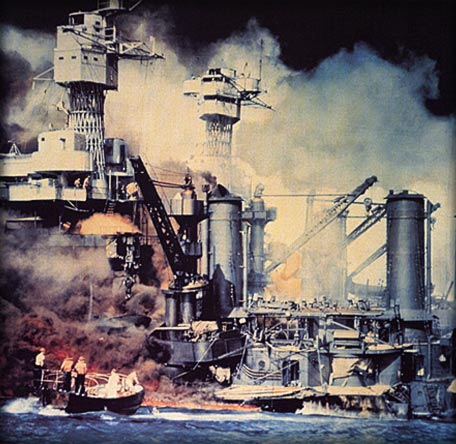 Image of Pearl Harbor Bombing