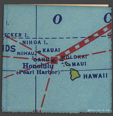 Pearl Harbor Map - Enlarged