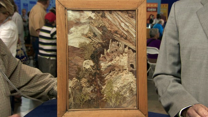 Stockton Sun Painting Ca 1950 Antiques Roadshow Pbs