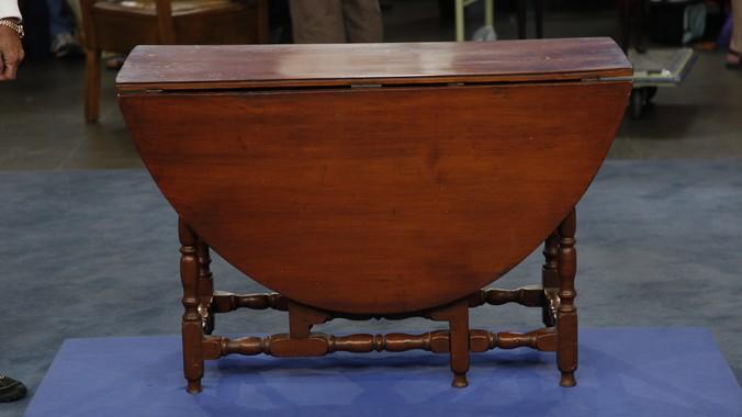 antique gateleg table value Massachusetts William & Mary Gateleg Table, ca. 1690 | Antiques  antique gateleg table value