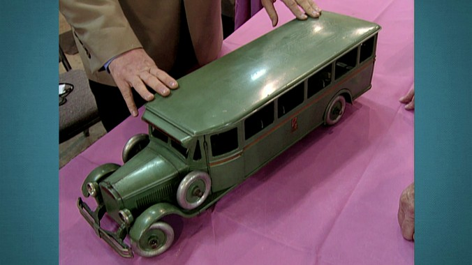 Buddy L Toy Bus Ca 1930 Antiques
