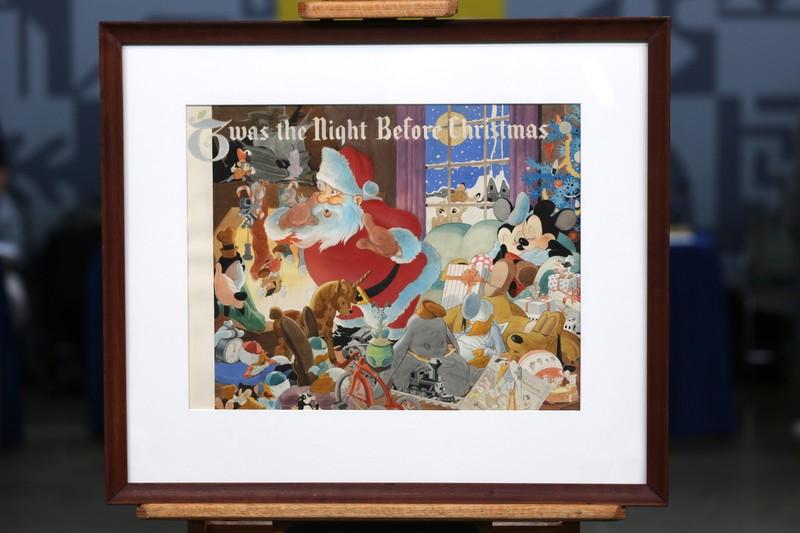 Christmas Roadshow Tour 2021 Texas 1941 Disney Night Before Christmas Watercolor Antiques Roadshow Pbs