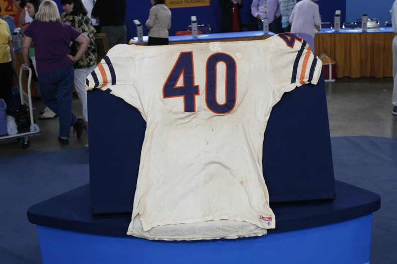 Gale Sayers Game-worn Jersey, ca. 1969   Antiques Roadshow   PBS