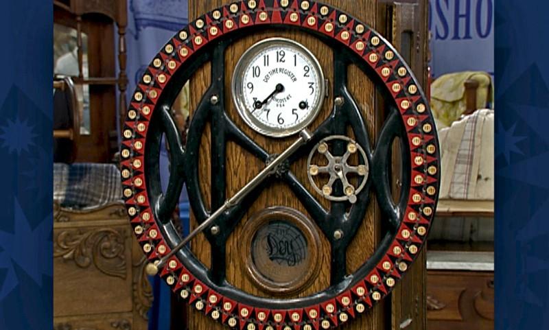 Dey Time Recorder Antiques Roadshow Pbs