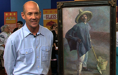 "Owner Interview | 1904 Diego Rivera ""El Albanil"" Oil Painting"