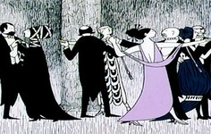 "Video | Remembering Edward Gorey's ""Mystery!"" Artwork"