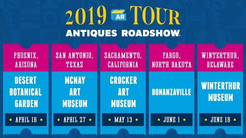 Antiques Roadshow 2020 Tour | Tour 2020