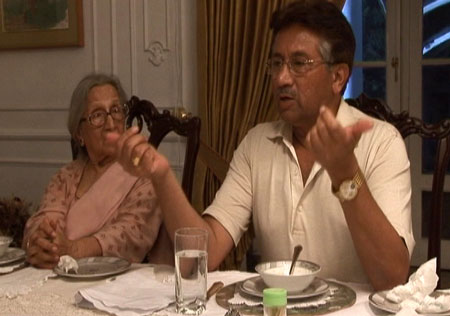 Dinner with President Musharraf