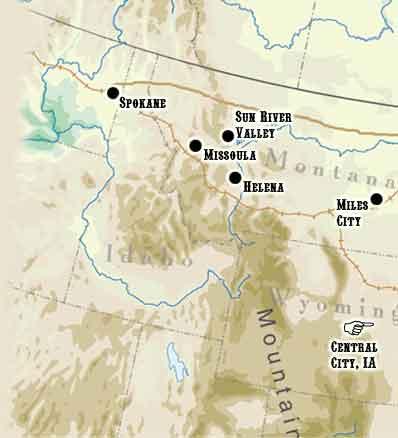 sun river montana map Sun River Homestead Pbs