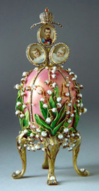Lilies of the Valley Fabergé egg
