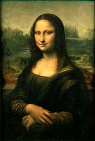 Мона Лиза(Джоконда)Леонардо Да Вінчі.  Фото оригіналу.