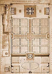 Wonderful Layout Of Taj Mahal Complex