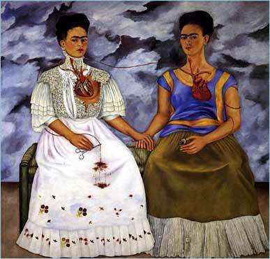 Two Fridas by Frida Kahlo