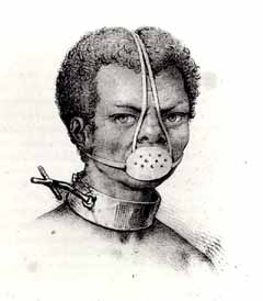 Slave with Iron Muzzle