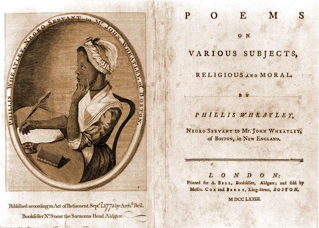 olaudah equiano and phillis wheatley essay Phillis wheatley's poem on tyranny and slavery in the colonies phillis wheatley's poem on tyranny and slavery in the colonies, 1772.