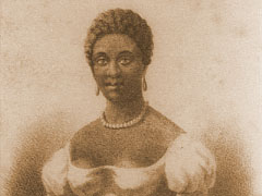 Phillis Wheatley, National Poetry Month, First published African-American poet
