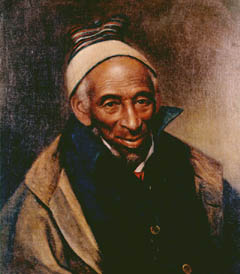 Portrait of Yarrow Mamout