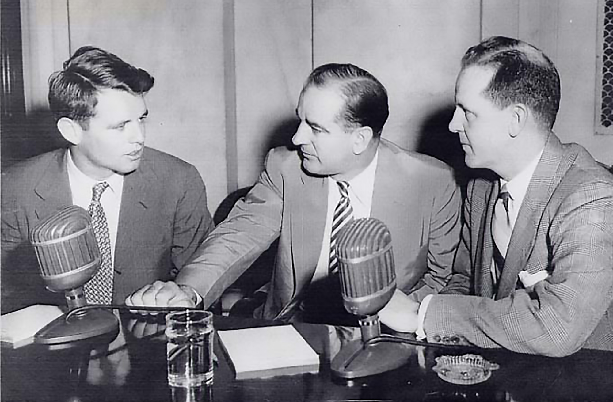 Image result for rfk and joe mccarthy
