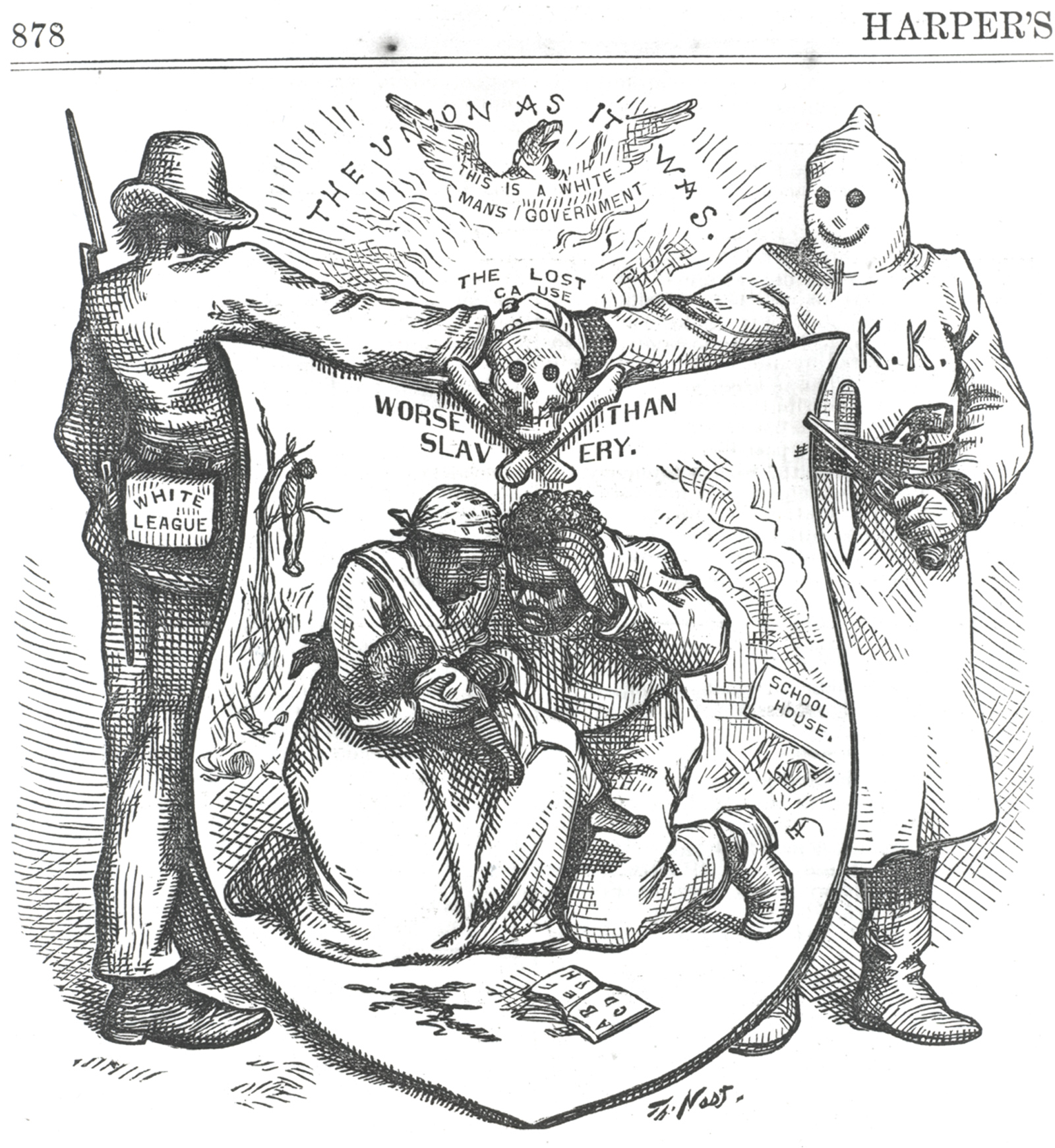 Thomas Nast's Political Cartoons | American Experience ...