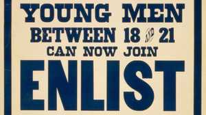Young Men Enlist poster image