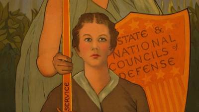 Woman, Your Country Needs You poster image