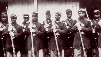Emancipation and the Civil War poster image