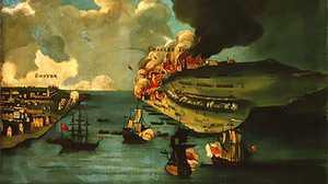 A Revolutionary War poster image