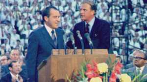 Evangelicals and the American Presidency poster image canonical_images/feature/Billy_Graham_Evangelical_canonical.jpg XXX